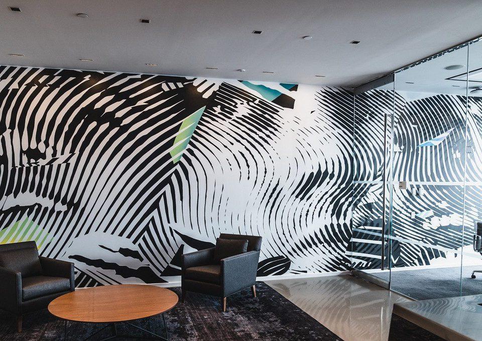 wall deko office space
