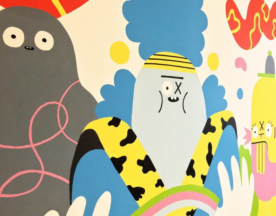 Ζωγραφικη Τοιχων σε Παιδικα Δωματια