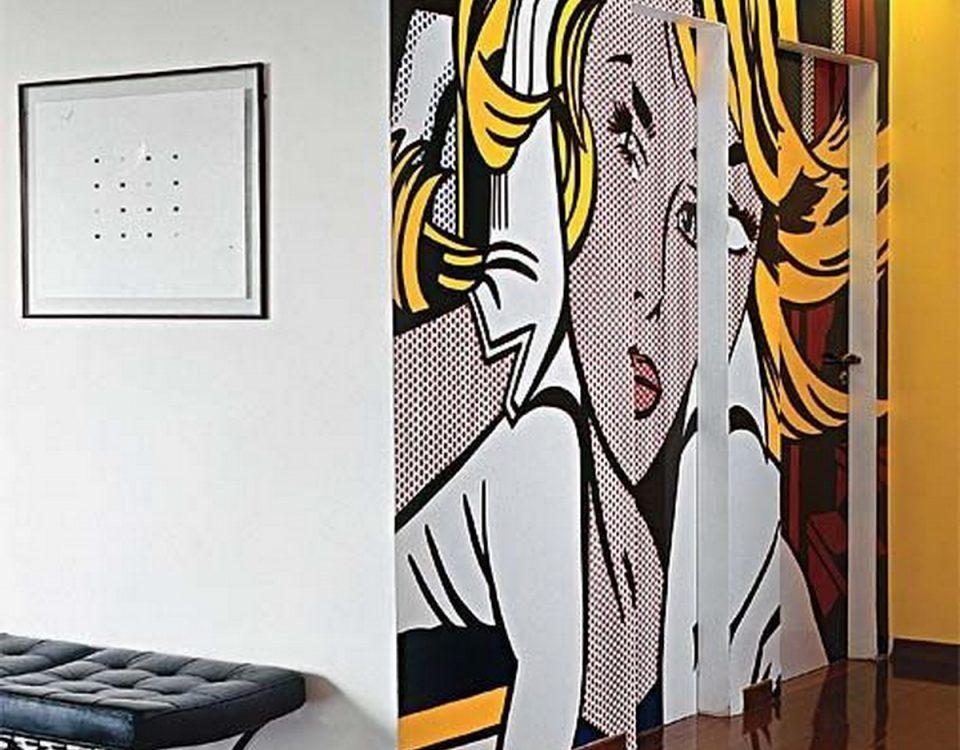 walldeko-Διακοσμητική τοιχογραφία με σχέδια-00